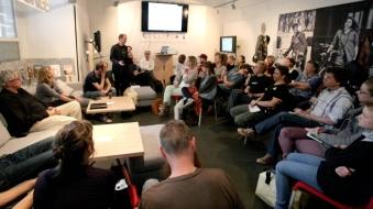 Diskussionsveranstaltung zum Thema Radfahren in Wien