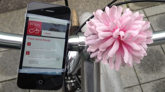 Smartphone Blume Radlenker Bike Navi