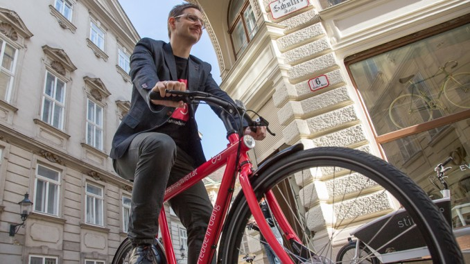 Dienstfahrrad, Fahrrad Wien, Blum