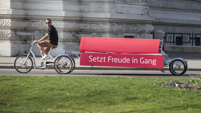 Fahrradhaus on Tour, Größtest Lastenrad Europas