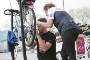 Reparatur beim Fahrradhaus