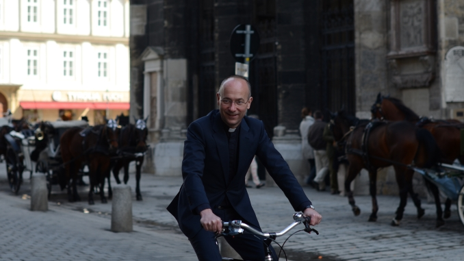 Toni Faber fährt Rad