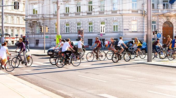 Im Juli 2013 wurden so viele Radfahrende gezählt wie noch nie