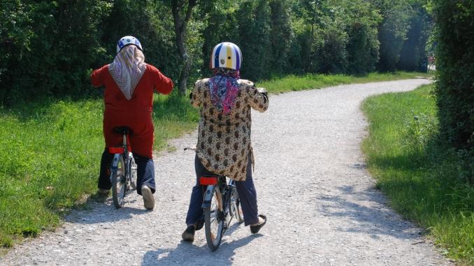 Mama fährt Rad2