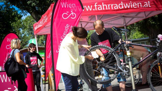 Fahrrad Wien, gratis Radchecks