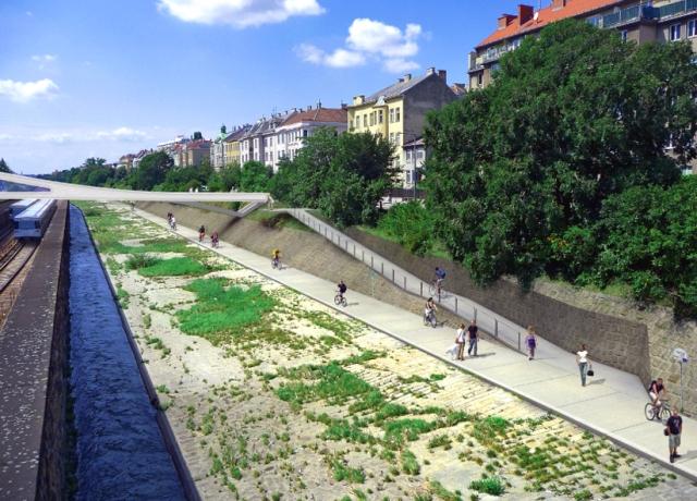 Auch der Radweg entlang des Wientals soll verbessert werden