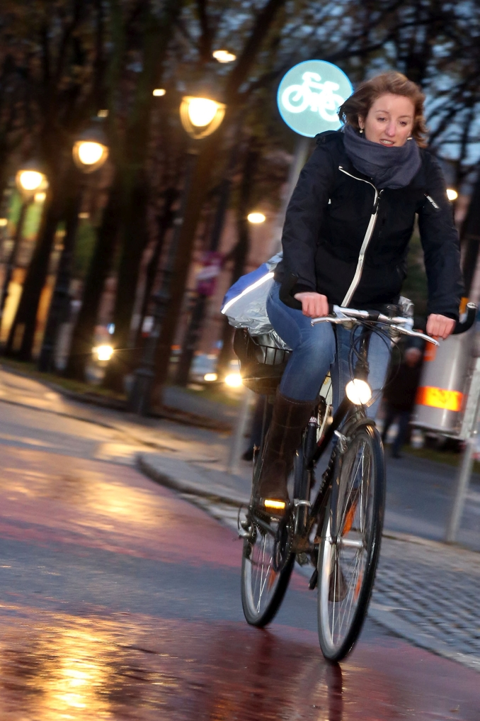 licht am fahrrad 1., universitaetsring 2