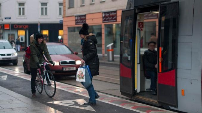 Siegerprojekt 2013: Radverkehrslösung Ottakringer Straße, Foto: E.Preuner