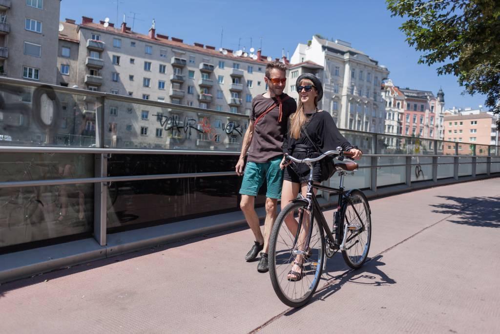 Kombi Rad Fuß. Foto: Stephan Doleschal