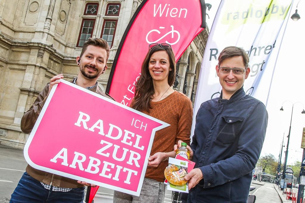 Daniel Pernold, Judith Wittrich, AK Wien), Martin Blum, Radverkehrsbeauftragter