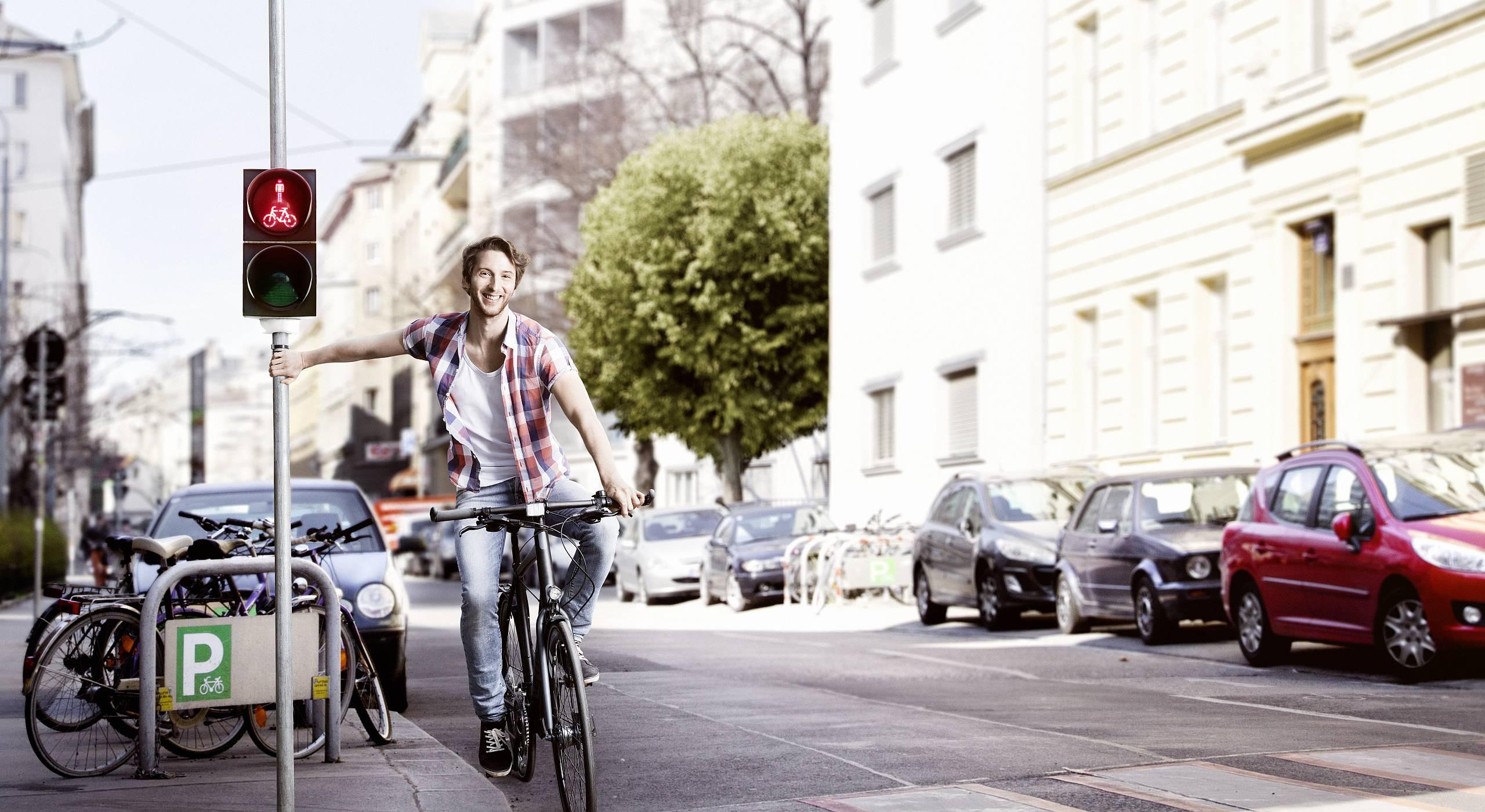 Cover der neuen Wiener Fahrradfibel.