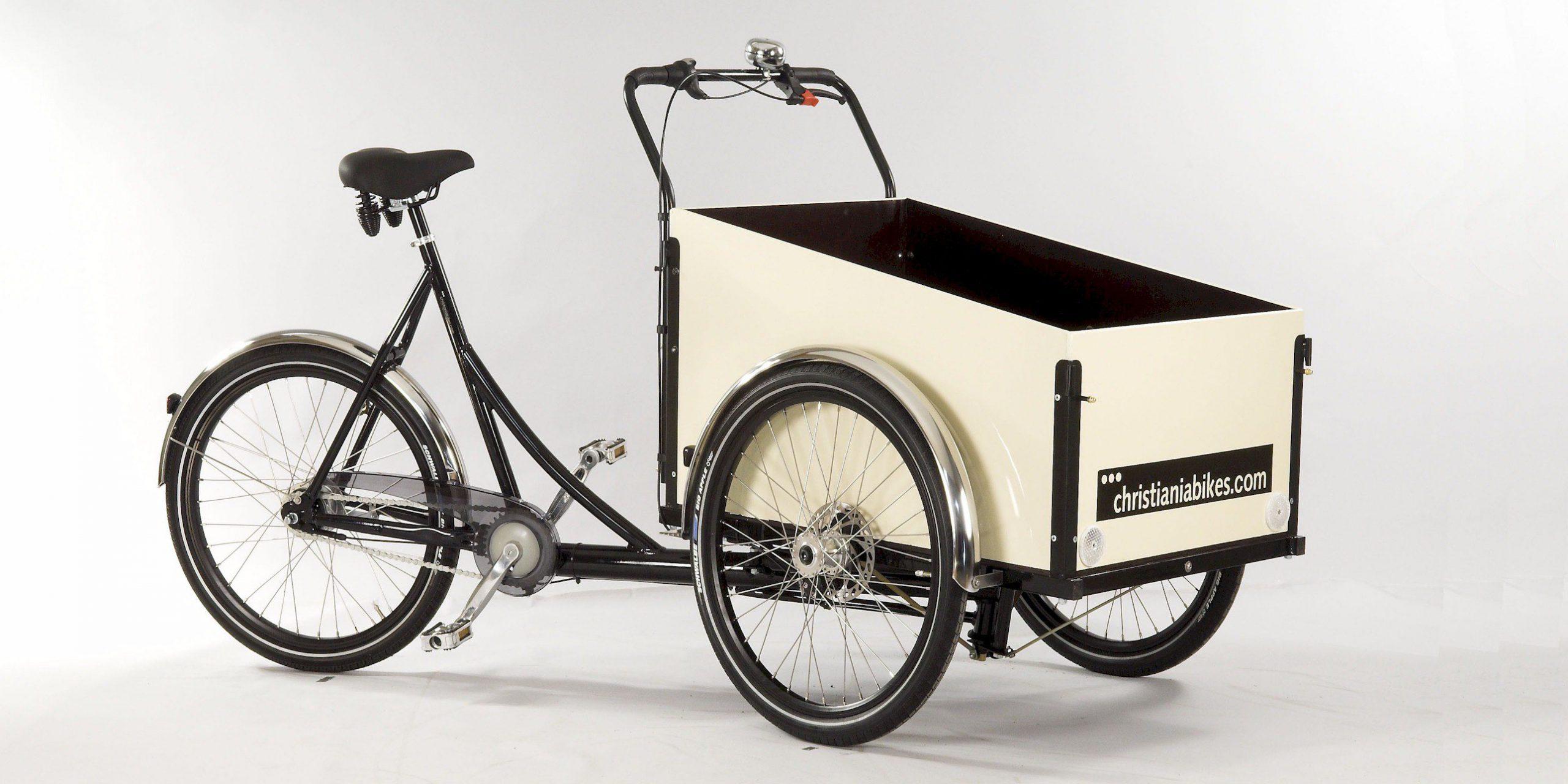 Transportfahrräder in der Stadt