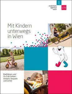 """Titelblatt der Broschüre """"Mit Kindern unterwegs in Wien"""""""