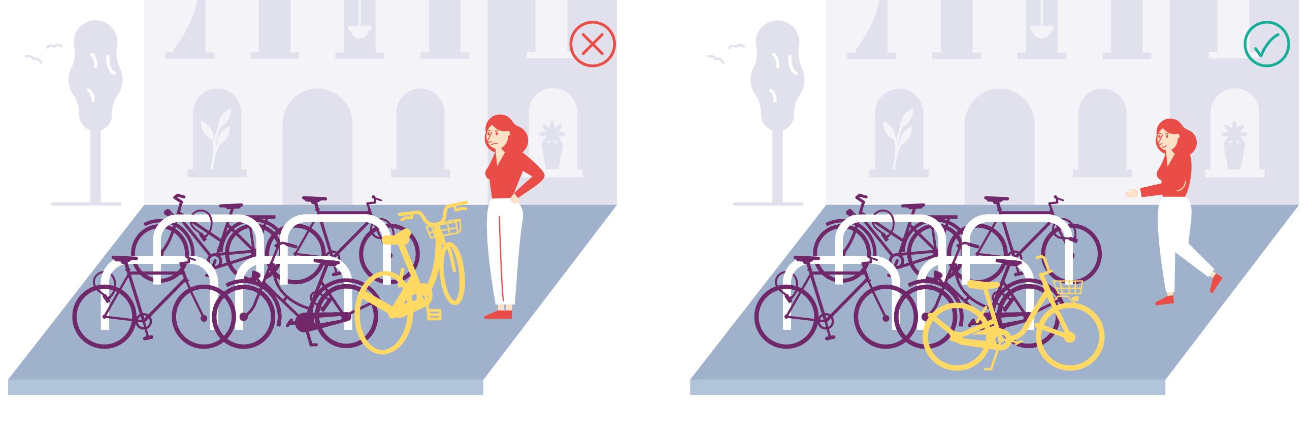 Wie stelle ich mein Fahrrad richtig ab? Was gibt es dabei zu