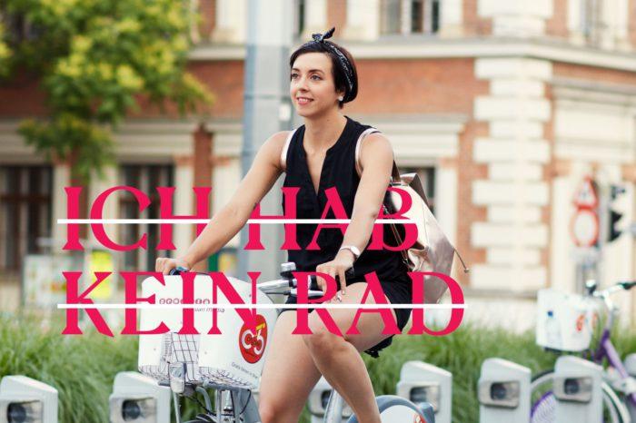 Irina fährt. Obwohl sie kein Fahrrad hat - sie hat sich eine ausgeliehen. #warumfährstDUnicht. Foto von Ian Ehm