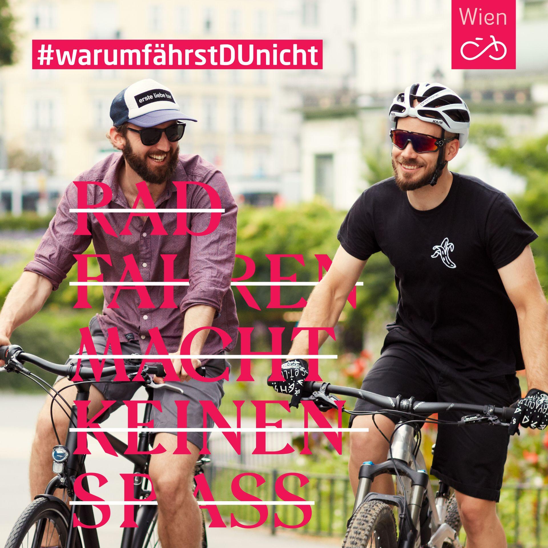 Philipp und Matthias haben beide erst recht spät bemerkt, wie viel Spaß Radfahren macht. Jetzt können sie sich ihr Leben ohne Radfahren gar nicht mehr vorstellen.