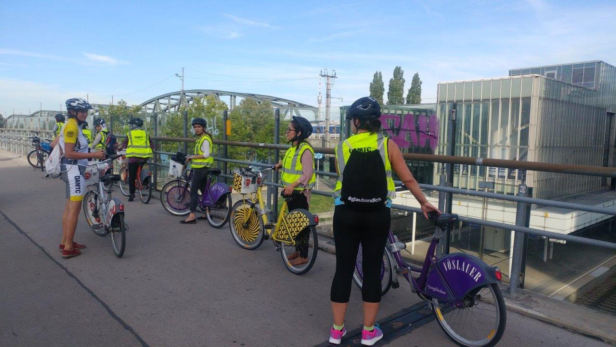 Der ÄAMTC bietet Fahrradkurse für Frauen an. (c) ÖAMTC