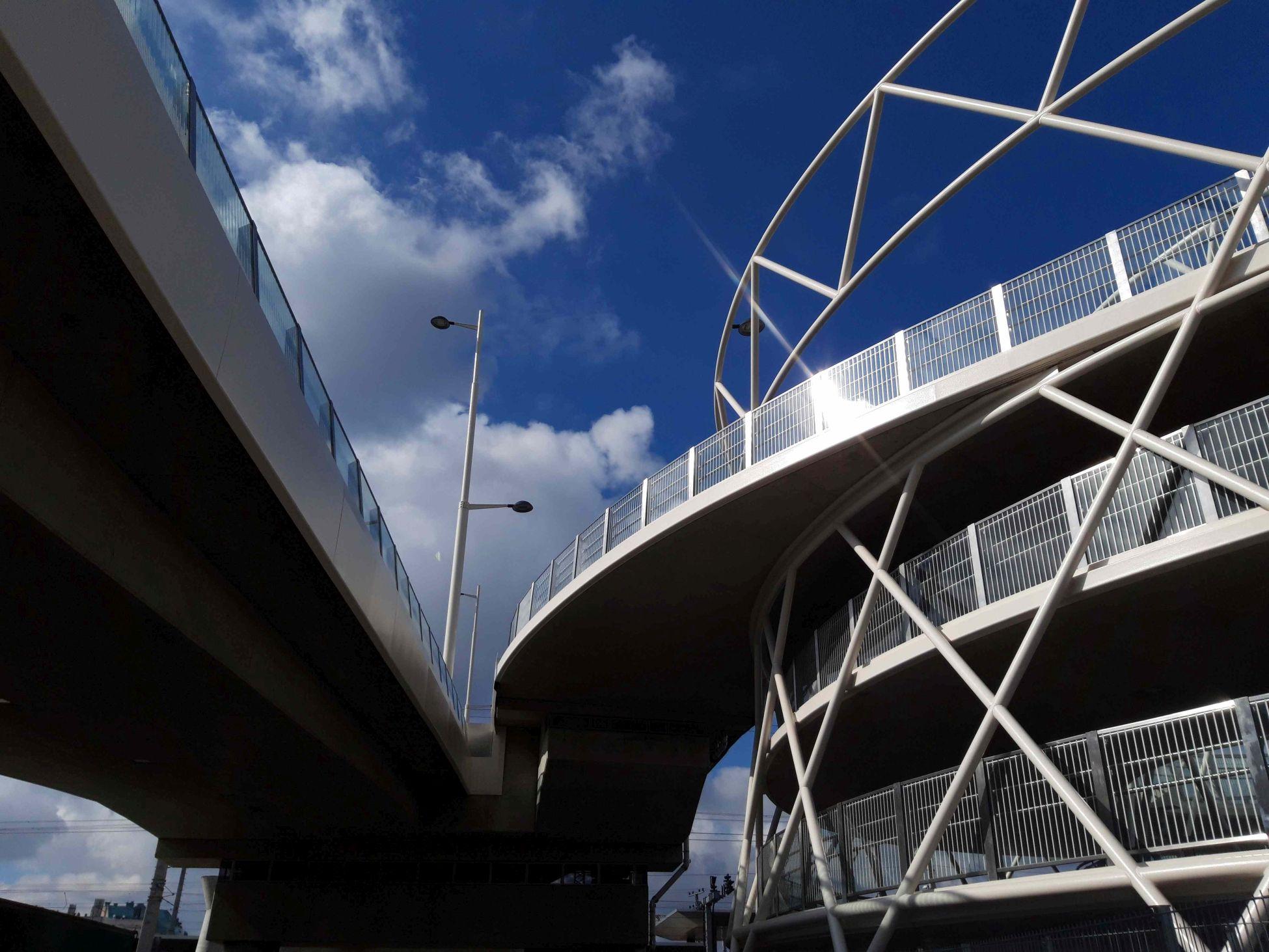 Die Südbahnhofbrücke verbindet den 3. mit dem 10. Bezirk.