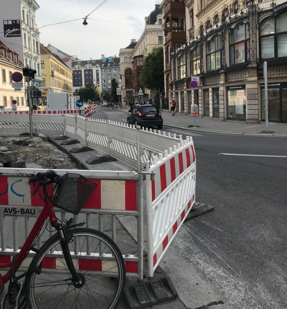 Baustelle Margaretenstraße