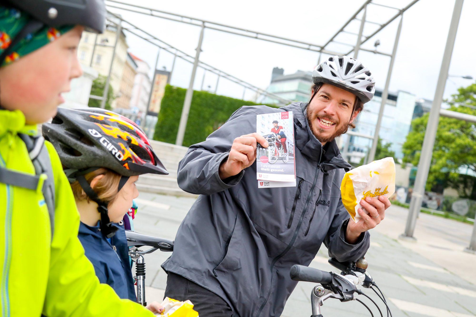 Sicher und gesund zur Schule   Fahrrad Wien