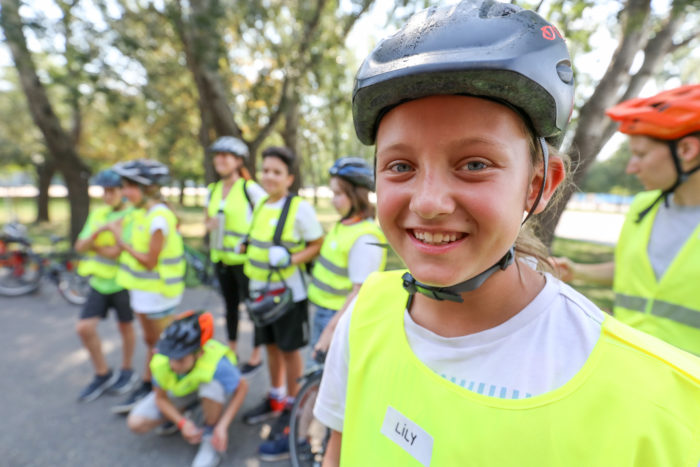 Sommer-Radcamp der Mobilitätsagentur Wien