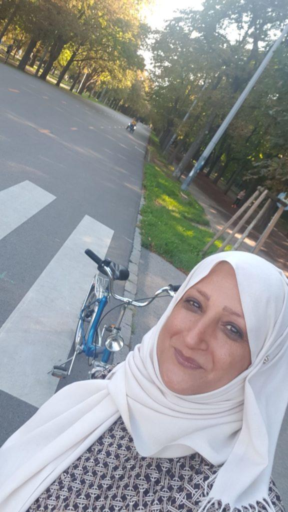 Fatima Fahrrad Prater Hauptallee