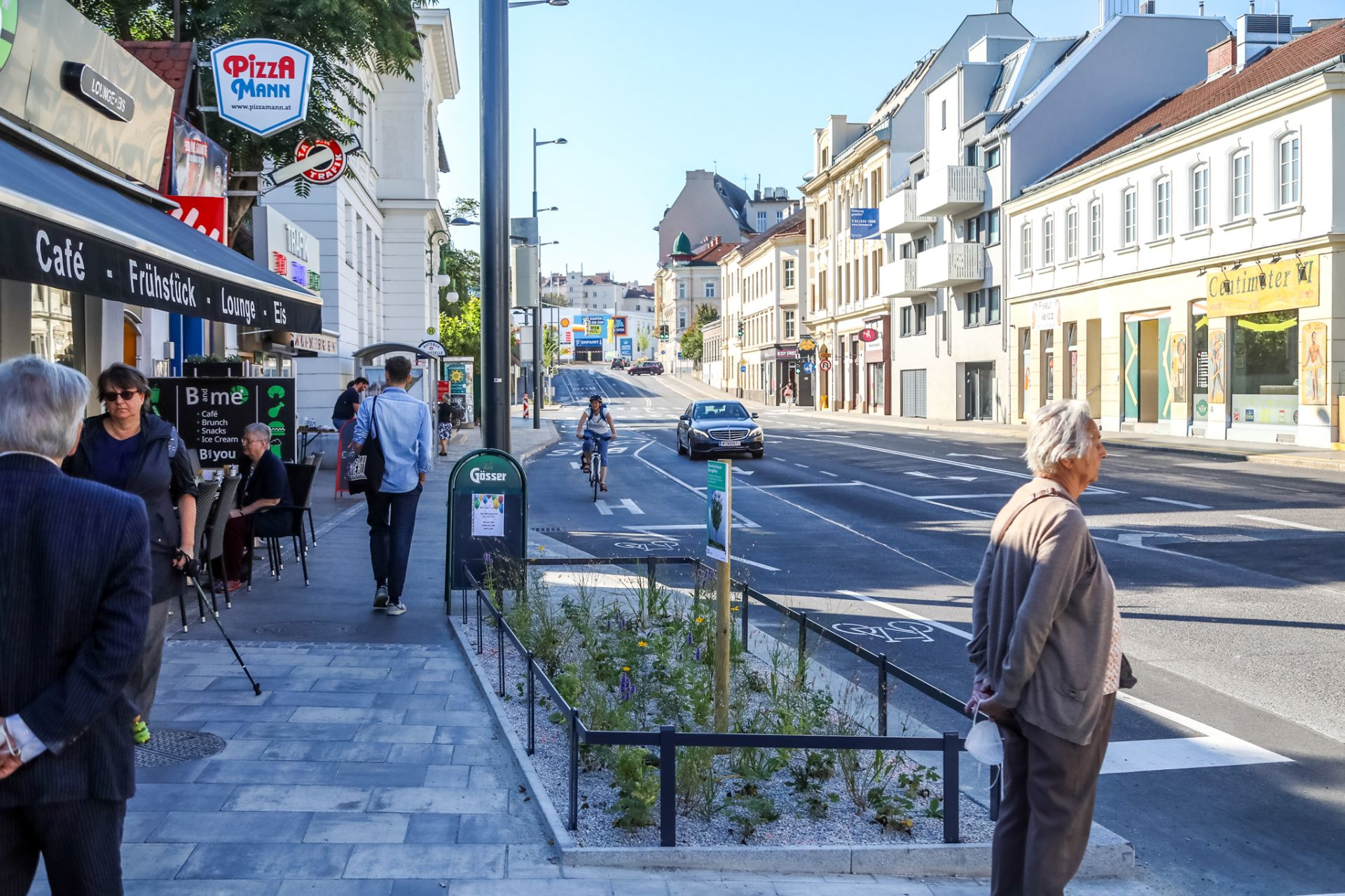 Das Gersthofer Platzl in Währing wurde in den letzten Monaten attraktiviert und zu einem neuen Grätzlzentrum ausgebaut.